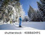 full length portrait of happy... | Shutterstock . vector #408860491