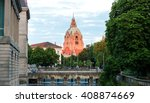 Stock photo hannover city hall rathaus 408874669