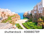 Panoramic View Of Polignano....