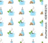seamless pattern with... | Shutterstock .eps vector #408908191