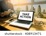 action plan strategy vision... | Shutterstock . vector #408913471