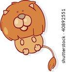 leo zodiac sign | Shutterstock .eps vector #40892551