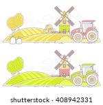 agribusiness.vector... | Shutterstock .eps vector #408942331