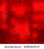 background red triangle. | Shutterstock .eps vector #408960919