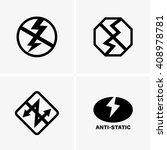 anti static   Shutterstock .eps vector #408978781