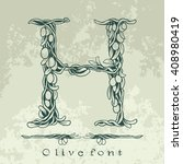 binding flowering branches of... | Shutterstock .eps vector #408980419