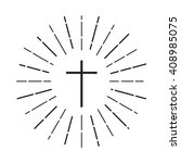 Cross Logo. Christian Symbol I...