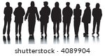 variety of different people... | Shutterstock .eps vector #4089904