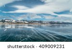 mountain view with beautiful... | Shutterstock . vector #409009231