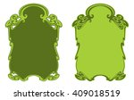 decorative frame | Shutterstock .eps vector #409018519