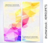 a set of modern vector bright... | Shutterstock .eps vector #409019971