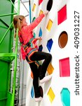 Climbing Wall For Children. Th...