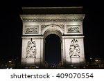 arc de triumph  paris  france | Shutterstock . vector #409070554
