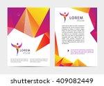 vector document  letter or logo ... | Shutterstock .eps vector #409082449