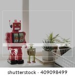 robot room space symbol icon... | Shutterstock . vector #409098499