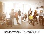 business corporation... | Shutterstock . vector #409099411