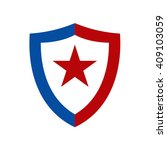 star and shield logo | Shutterstock .eps vector #409103059