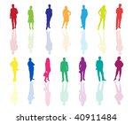 business people | Shutterstock .eps vector #40911484