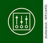 sliders icon. vector eps10 icon