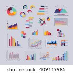 data tools finance diagram and... | Shutterstock .eps vector #409119985
