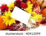 Autumn Floral Arrangement...