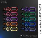 vector infographic design list... | Shutterstock .eps vector #409124791