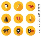 Flat Icons Othello In Vector...