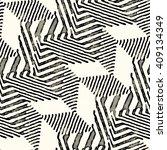 abstract warping elements...   Shutterstock . vector #409134349