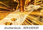 spot welding machine industrial ... | Shutterstock . vector #409140439