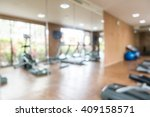 abstract blur fitness and gym... | Shutterstock . vector #409158571