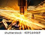 industrial welding automotive... | Shutterstock . vector #409164469