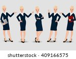 business woman   Shutterstock .eps vector #409166575