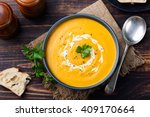 Pumpkin And Carrot Soup  Tadka...