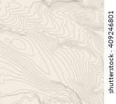 tileable topographic map... | Shutterstock .eps vector #409246801