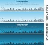 seattle event banner   Shutterstock .eps vector #409254499