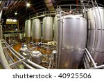 View Of The Machinery And Vats...