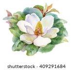 Watercolor Summer Blooming...