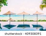 Beautiful Luxury Umbrella Pool...