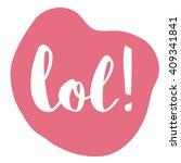 world laughter day  vector... | Shutterstock .eps vector #409341841