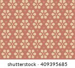 decorative seamless pattern... | Shutterstock .eps vector #409395685