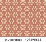 decorative seamless pattern...   Shutterstock .eps vector #409395685