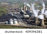 Aerial View Of Drax Power...