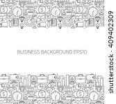 business line art background.... | Shutterstock .eps vector #409402309