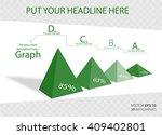 creative 3d vector infographics ... | Shutterstock .eps vector #409402801