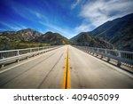 Highway Bridge Leads Into The...