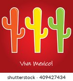 """""""viva mexico"""" paper cut out...   Shutterstock .eps vector #409427434"""