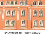 building facade | Shutterstock . vector #409438639
