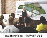 public park layout map... | Shutterstock . vector #409454011