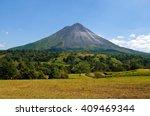 typical dormant volcano  arenal ...   Shutterstock . vector #409469344