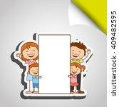 happy family design  | Shutterstock .eps vector #409482595